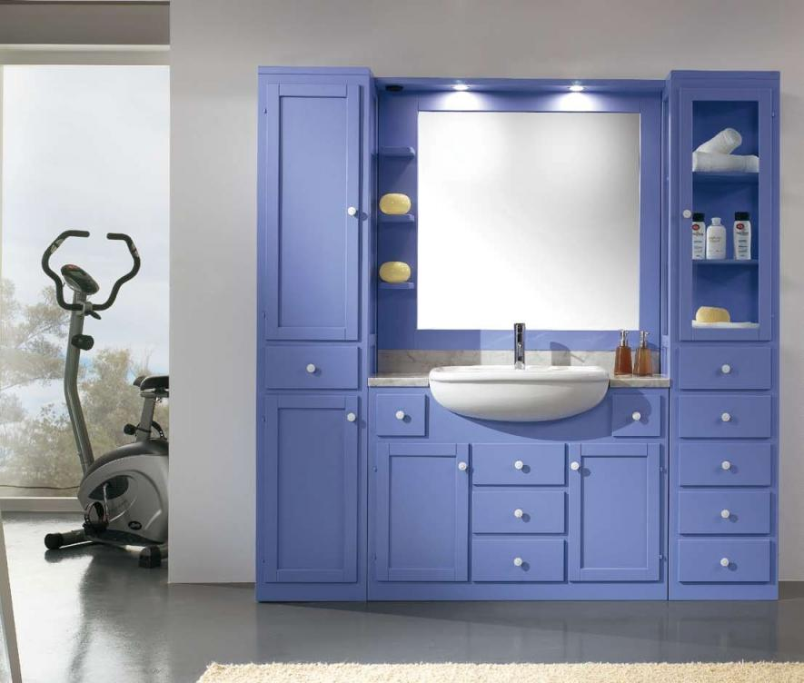 muebles ba o color azul