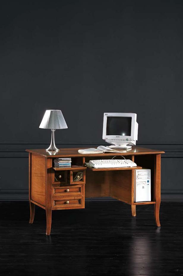 Escritorios mesas para ordenador escritorios de madera for Mesas pequenas ordenador