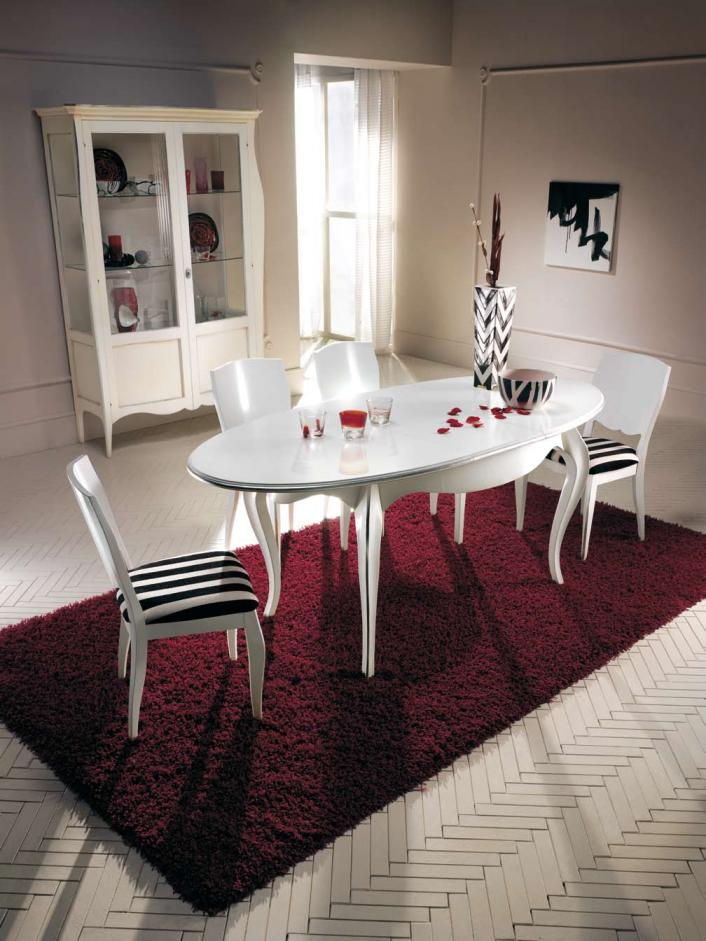 Sillas de salon modernas cool juego de comedor de sillas for Sillas salon blancas