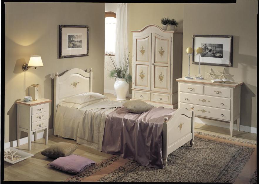 Muebles rusticos blancos envejecidos 20170719061350 - Dormitorio muebles blancos ...