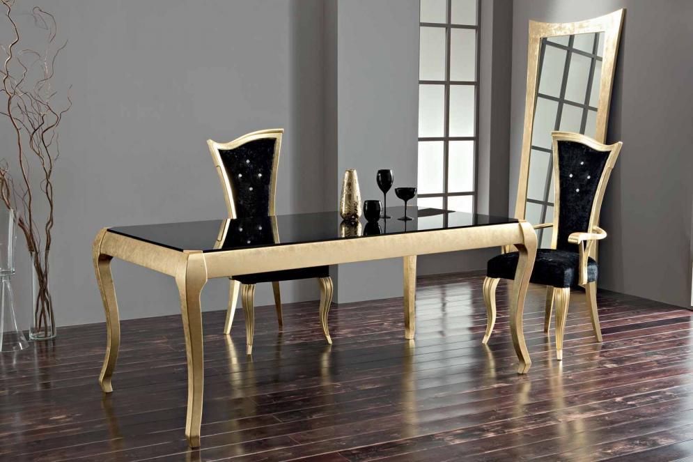 Mesa y sillas comedor modernas blancas for Sillas vintage modernas